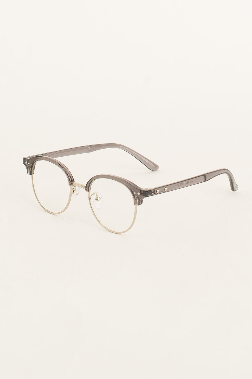 Christo Cat Eye Glasses, Black