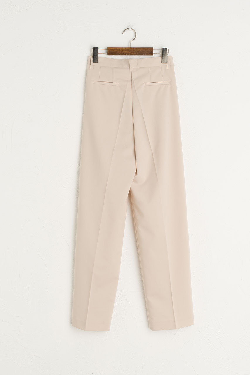 Jay Tailored Pants, Light Beige