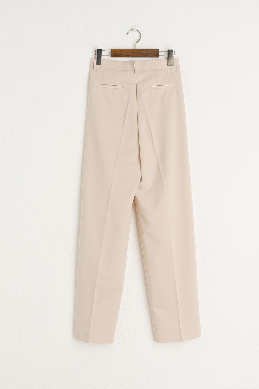 Jay Tailored Pants, Light Beige
