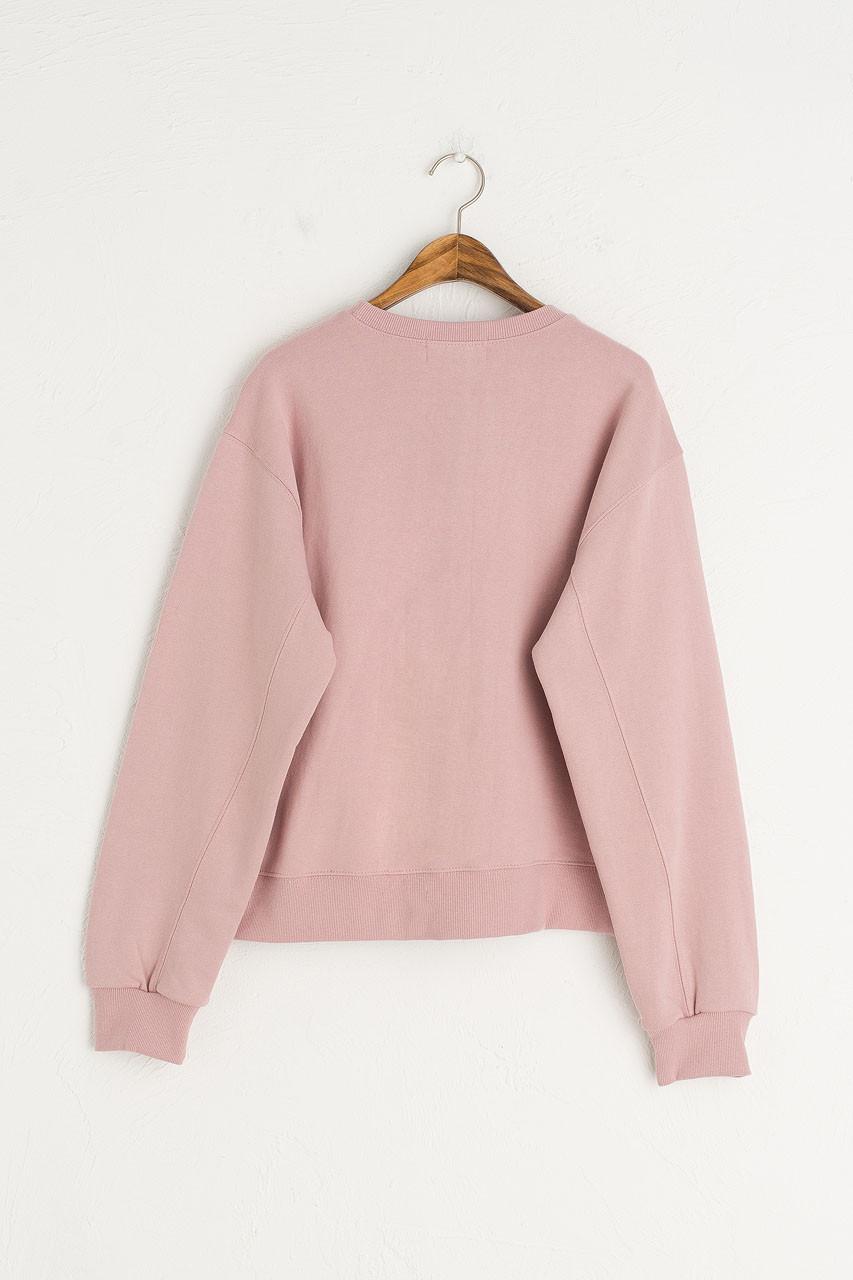 Pastel Sweatshirt, Pink