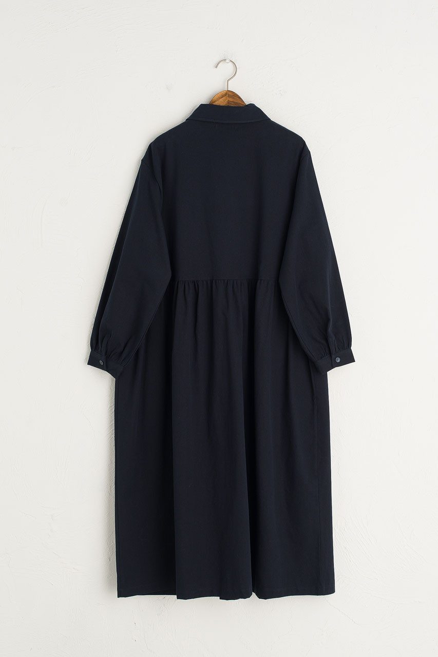 Ella Twin Pocket Dress, Navy