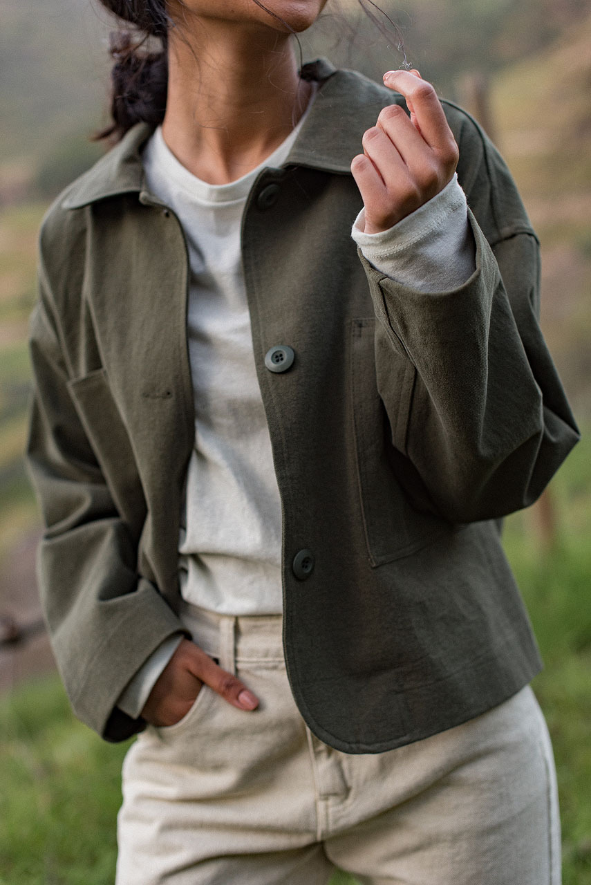 Suki Cotton Jacket, Khaki