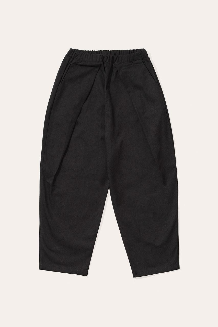 Menswear | Lightweight Wrap Pants, Black