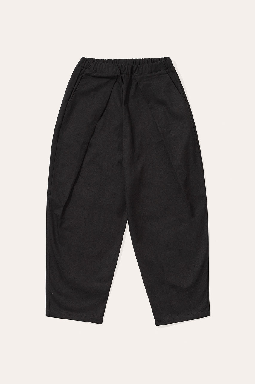 Menswear | Lightweight Wrap Pants, Black