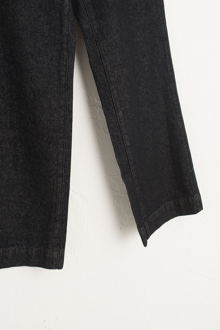 Gaby High Waist Denim Jean, Black