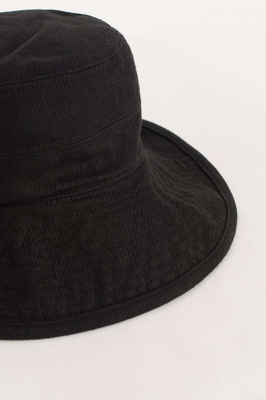 Soft Brimmed Hat, Black