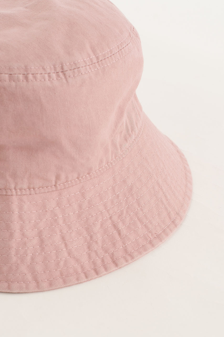 Washed Colour Brimmed Hat, Pink