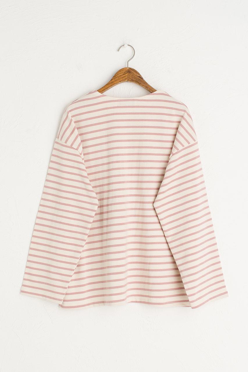 Sophie Stripe Tee, Pink