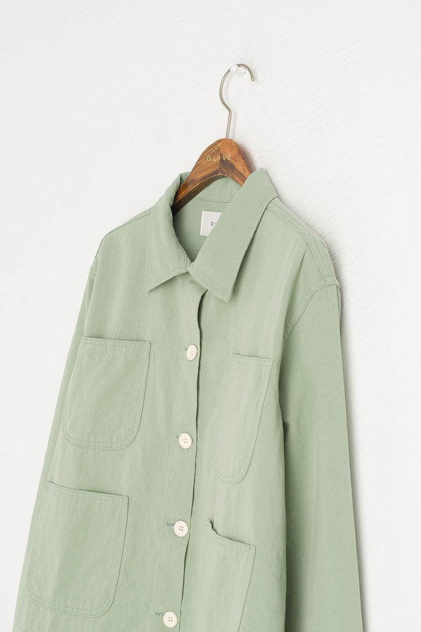 Risa Four Pocket Jacket, Mint