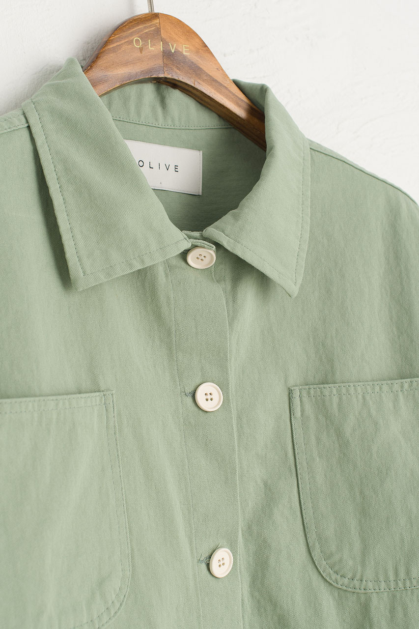 Risa Four Pocket Jacket, Mint