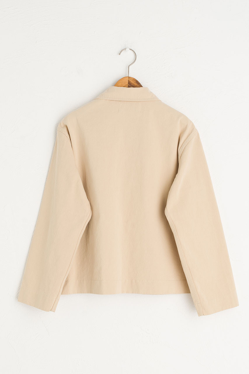 Risa Four Pocket Jacket, Beige