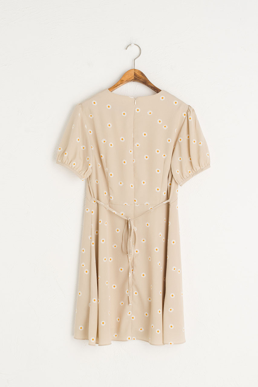 Mini Daisy Dress, Beige