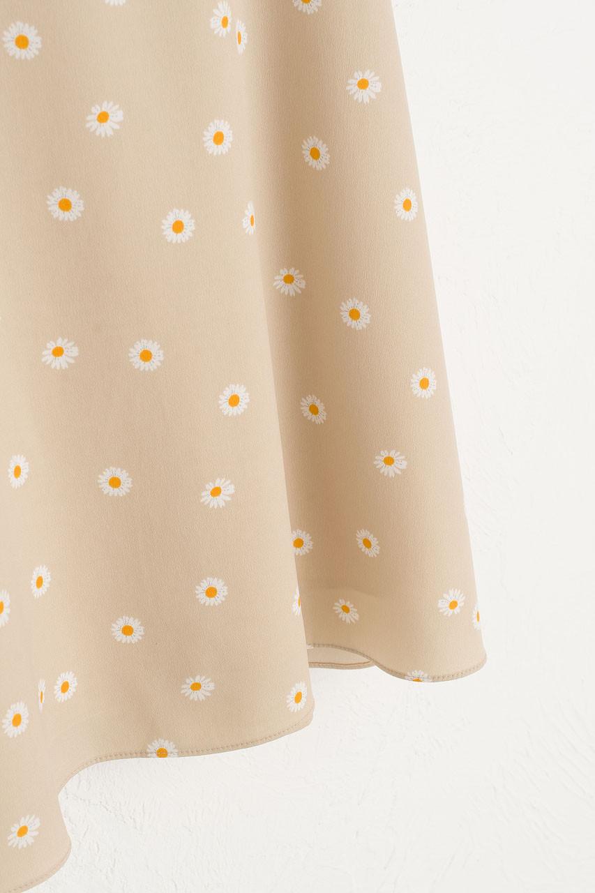 Mini Daisy Dress, Beige