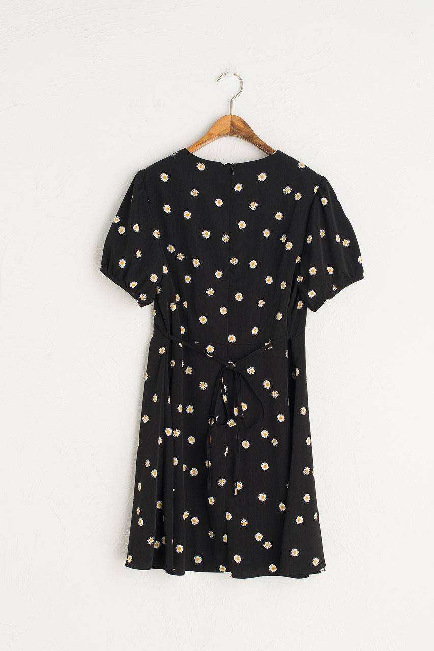 Mini Daisy Dress, Black