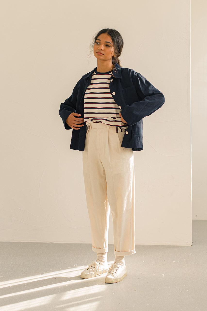 Risa Four Pocket Jacket, Navy