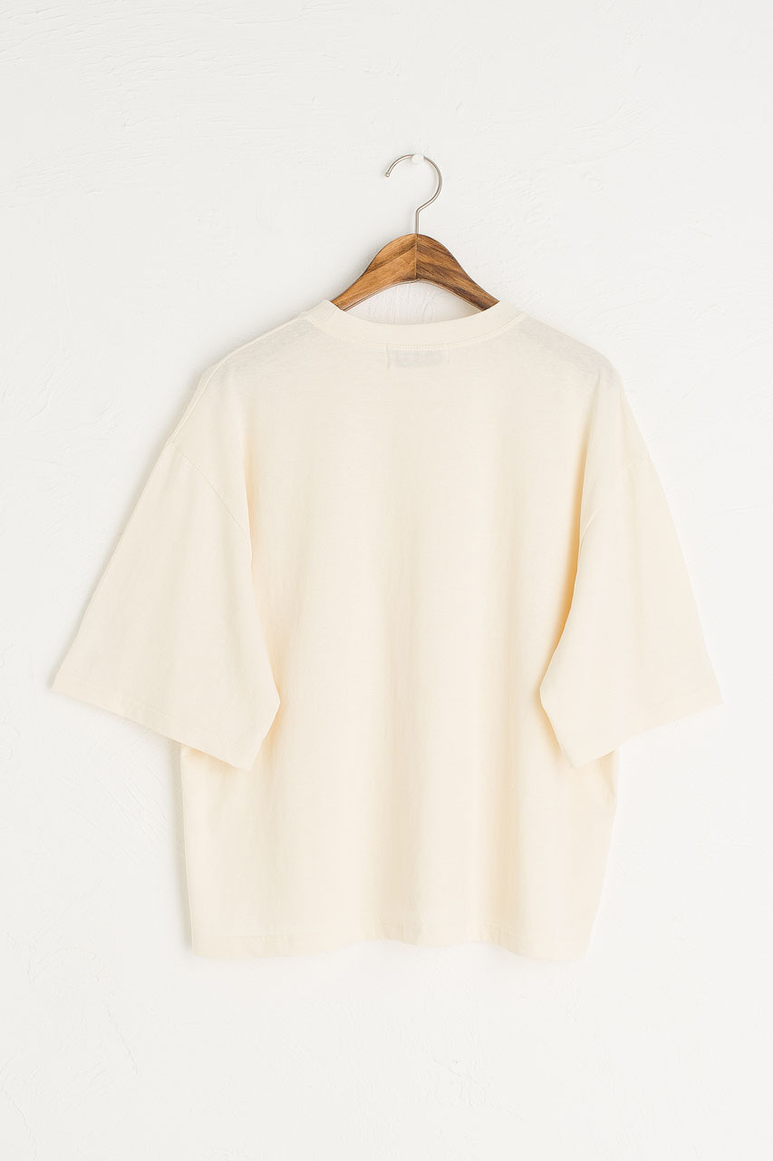 Aoi Short Sleeve Tee, Chamomile