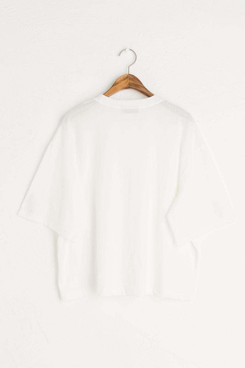 Aoi Short Sleeve Tee, Ivory