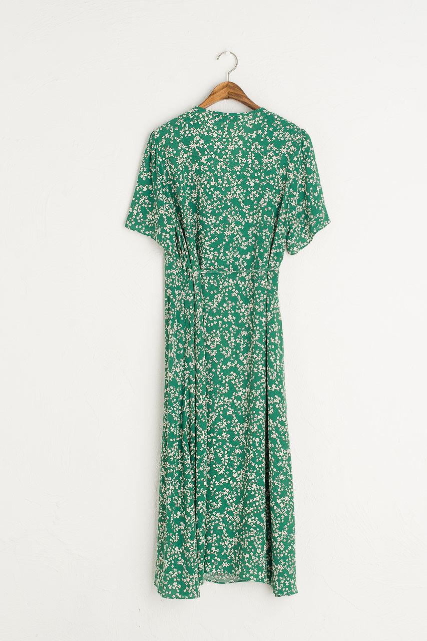 Julianne Wrap Dress, Green