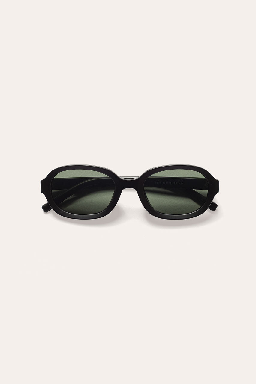 Menswear | Visby Sunglasses, Matte Black