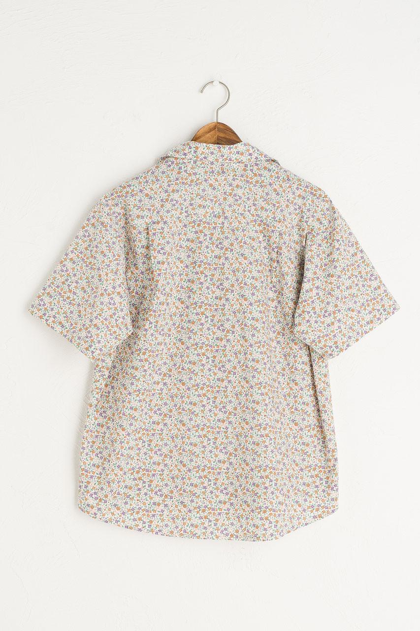 Jardin Camp Shirt, Violet