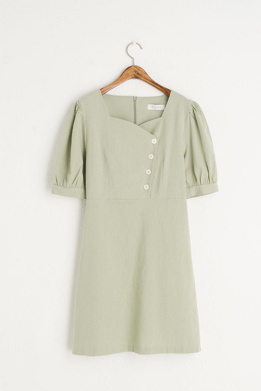 Tulip Babydoll Dress, Mint
