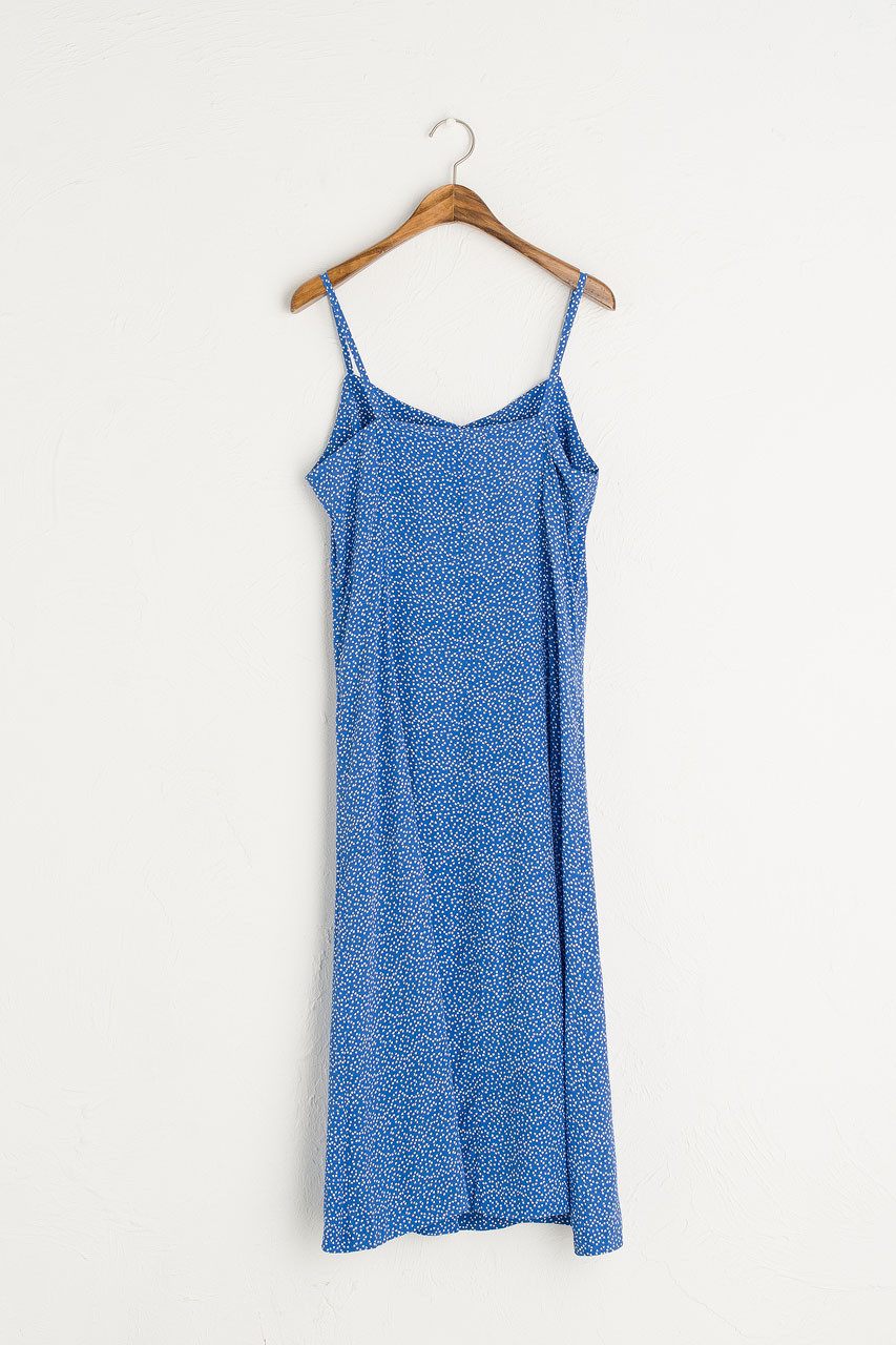 Dotty Cami Dress, Blue