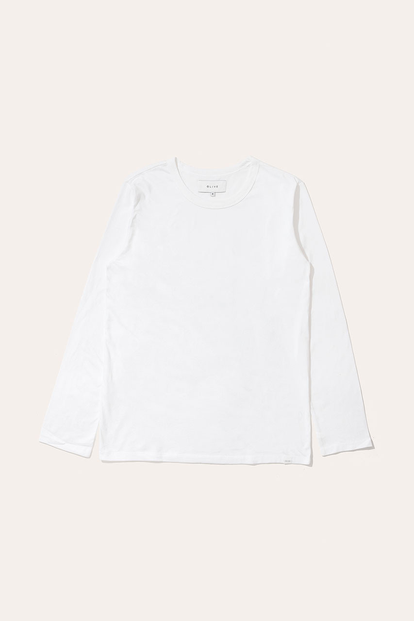 Menswear | Organic Cotton Short Sleeve Tee, White