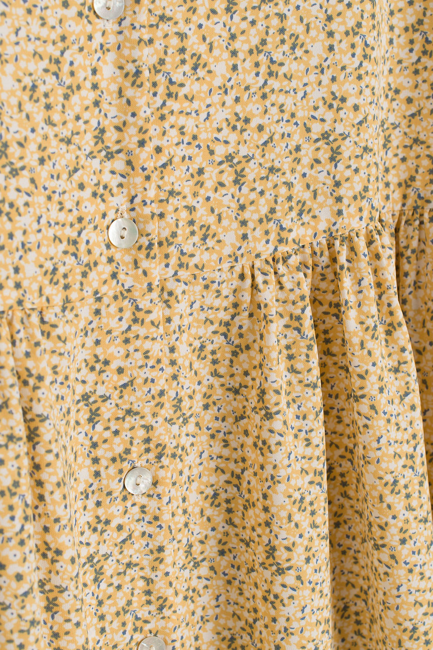 Anouk Puff Sleeve Dress, Yellow