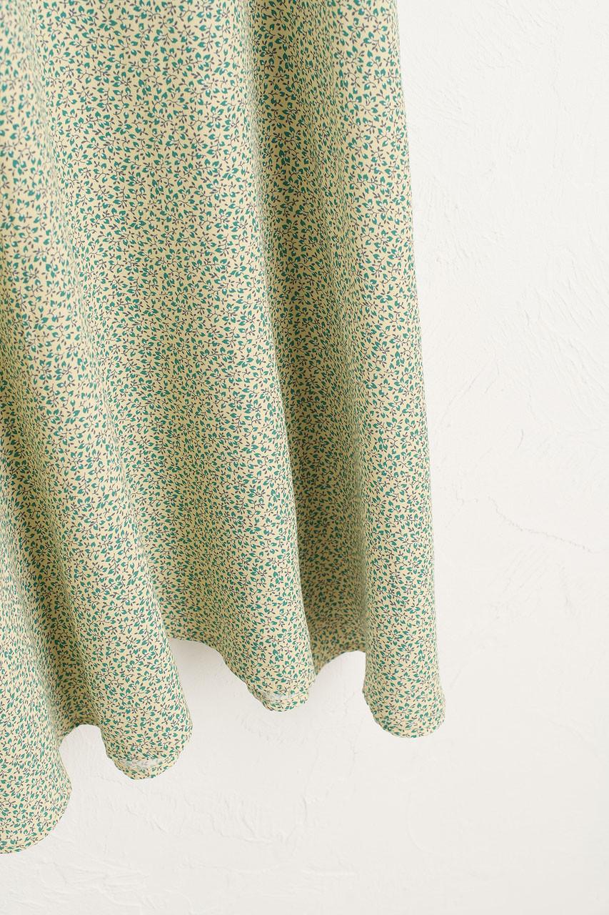 Gracia Floral Dress, Lime