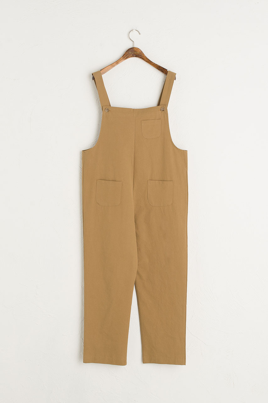 Kyoko Cotton Dungaree, Wood