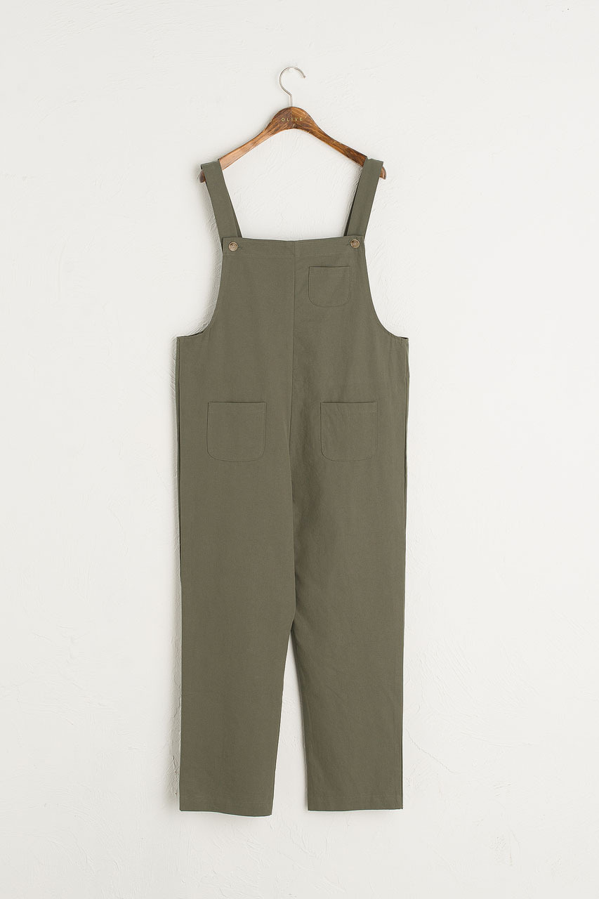 Kyoko Cotton Dungaree, Forest