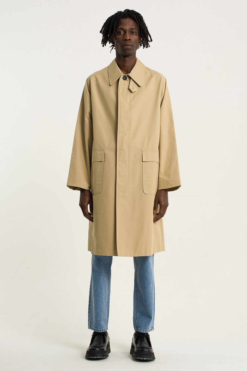 Menswear | Oversized Trench Coat, Fawn