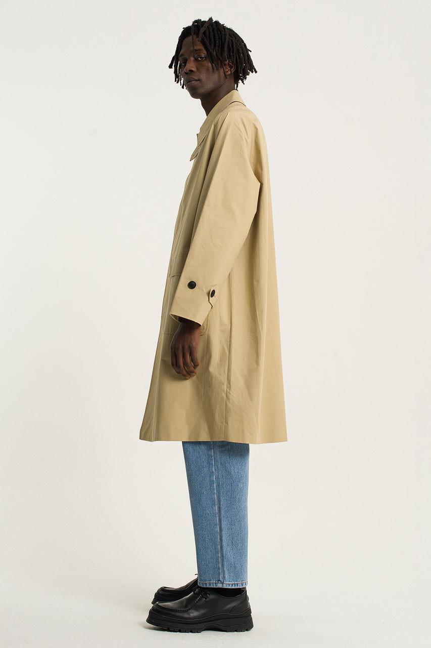 Menswear   Balmacaan Coat, Fawn