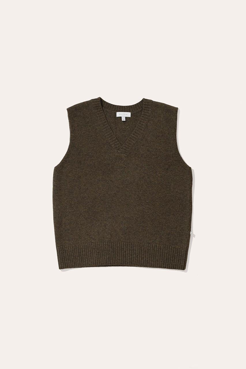 Menswear | Knit Vest, Moss