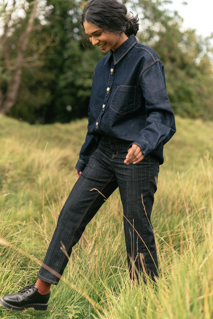 Etta Straight Jean, Indigo