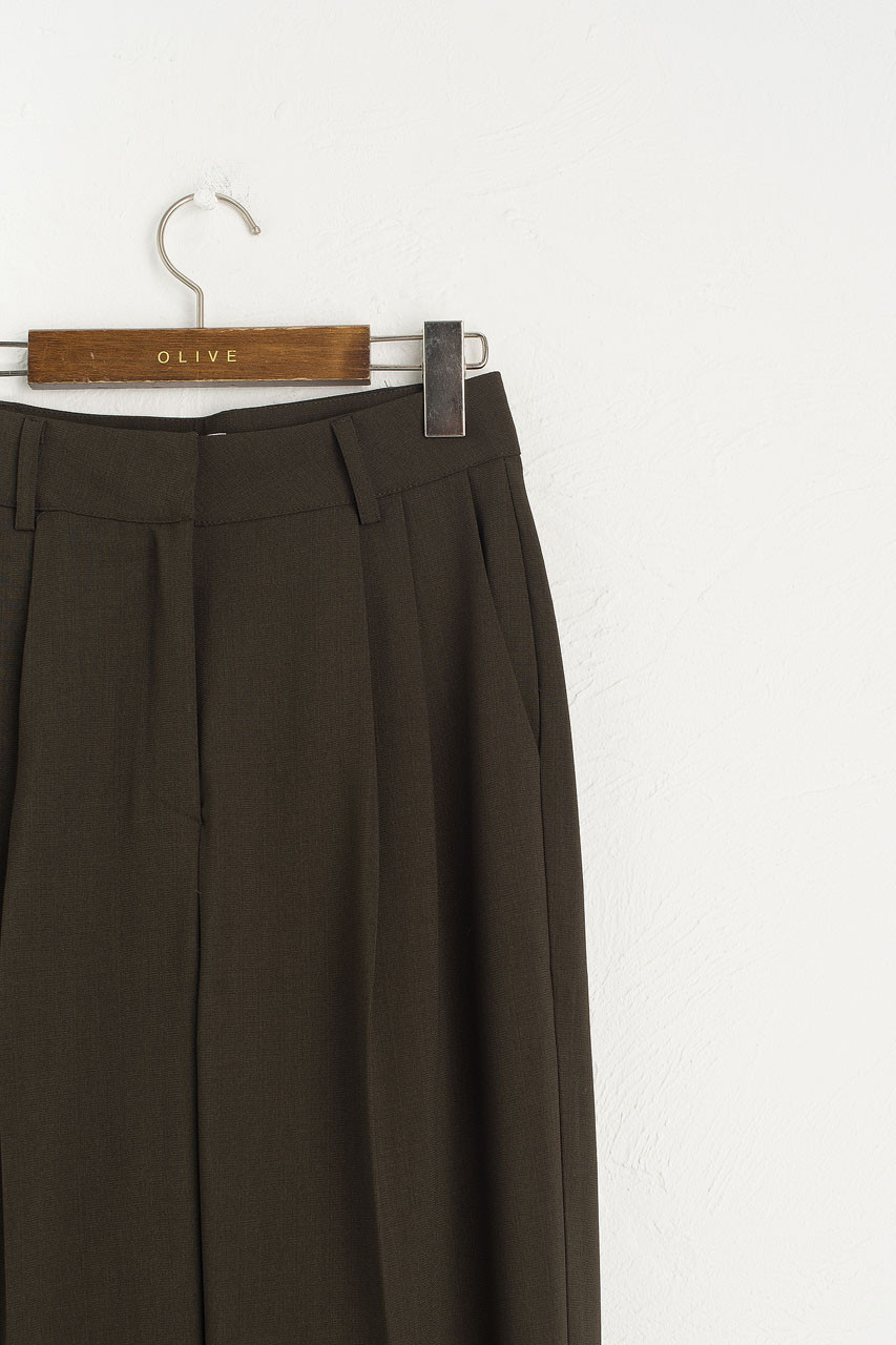 Mya Tailored Trousers, Khaki
