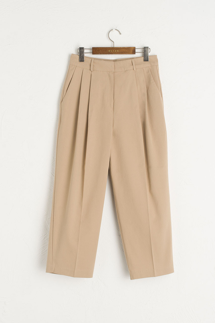 Cotton Kota Pants, Beige
