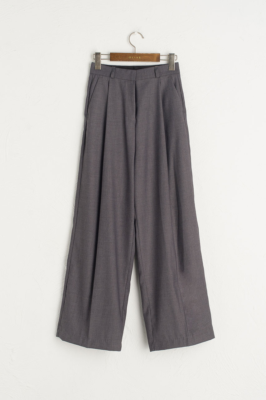 Over Wide Pants, Charcoal