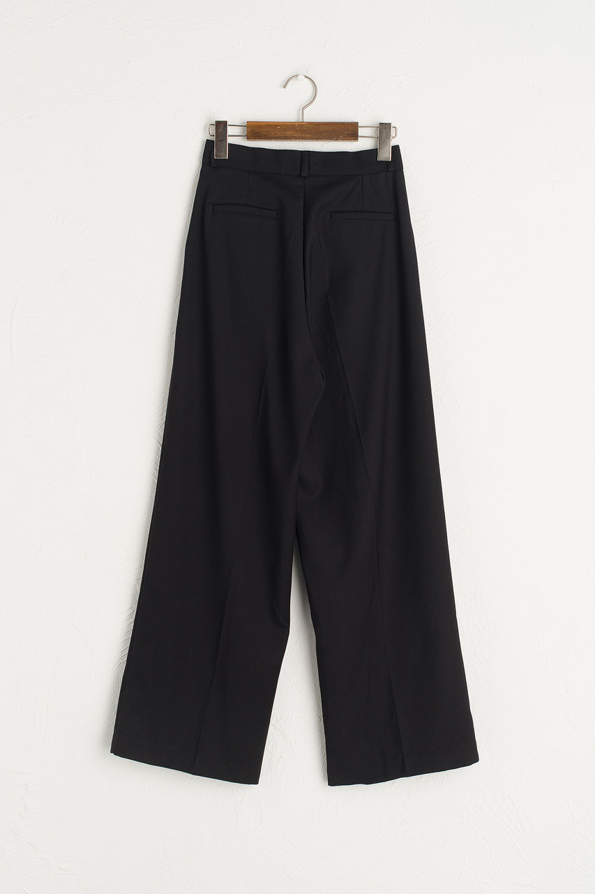 Over Wide Pants, Black