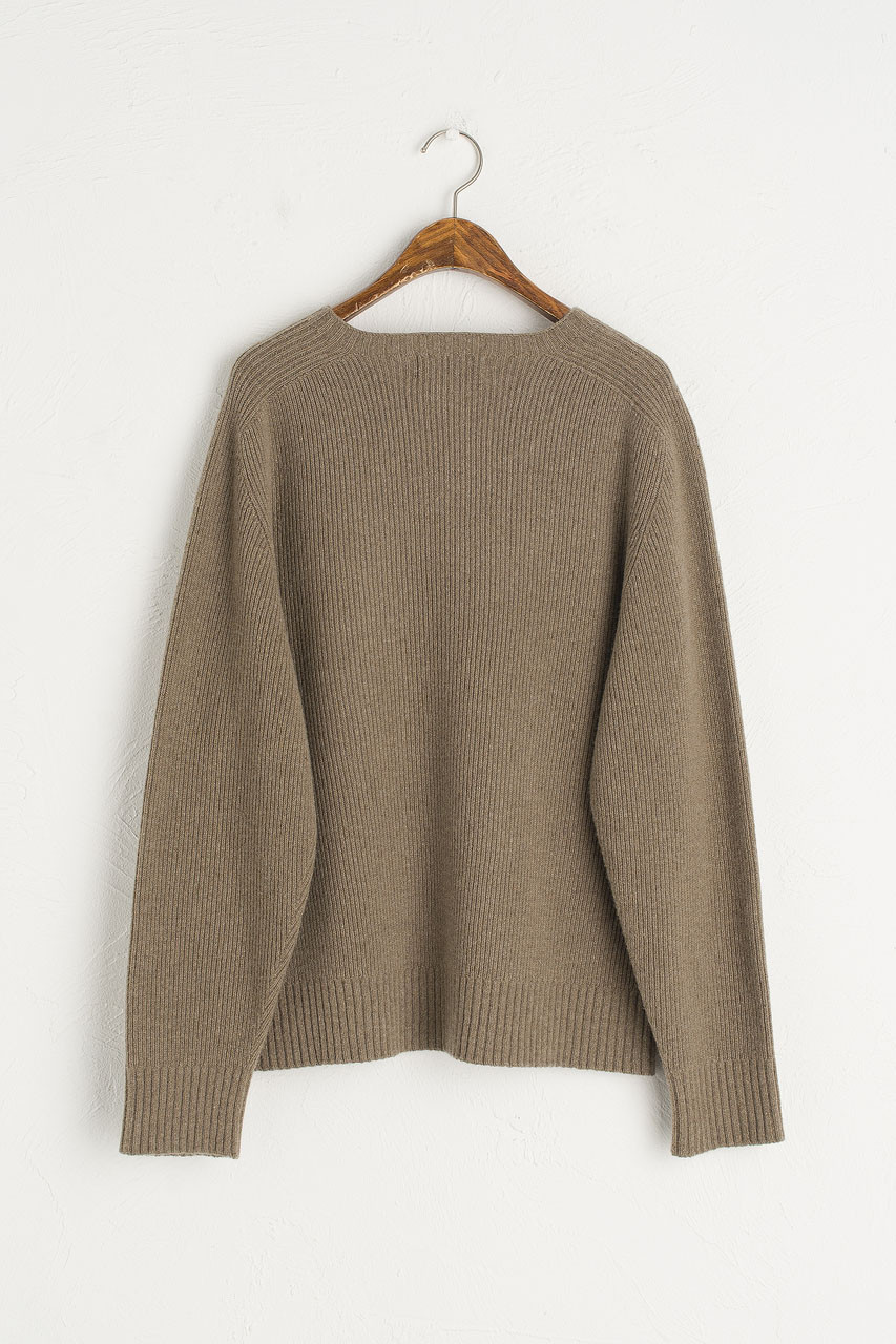 Hana Seamless Soft Jumper, Khaki