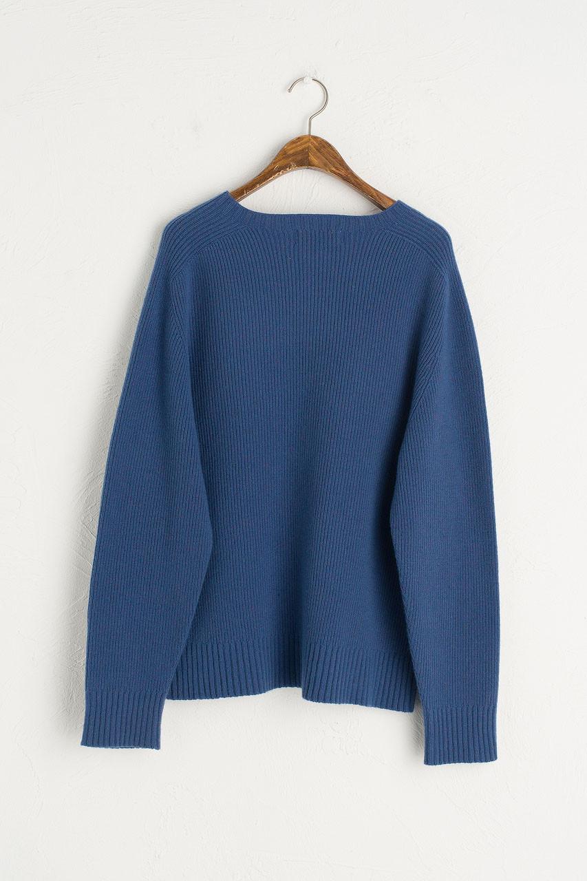 Hana Seamless Soft Jumper, Blue
