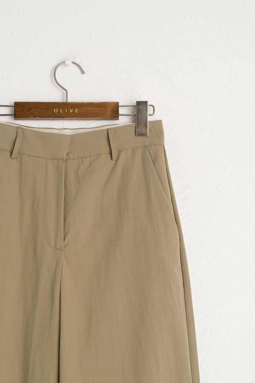Reid Simple Pants, Beige