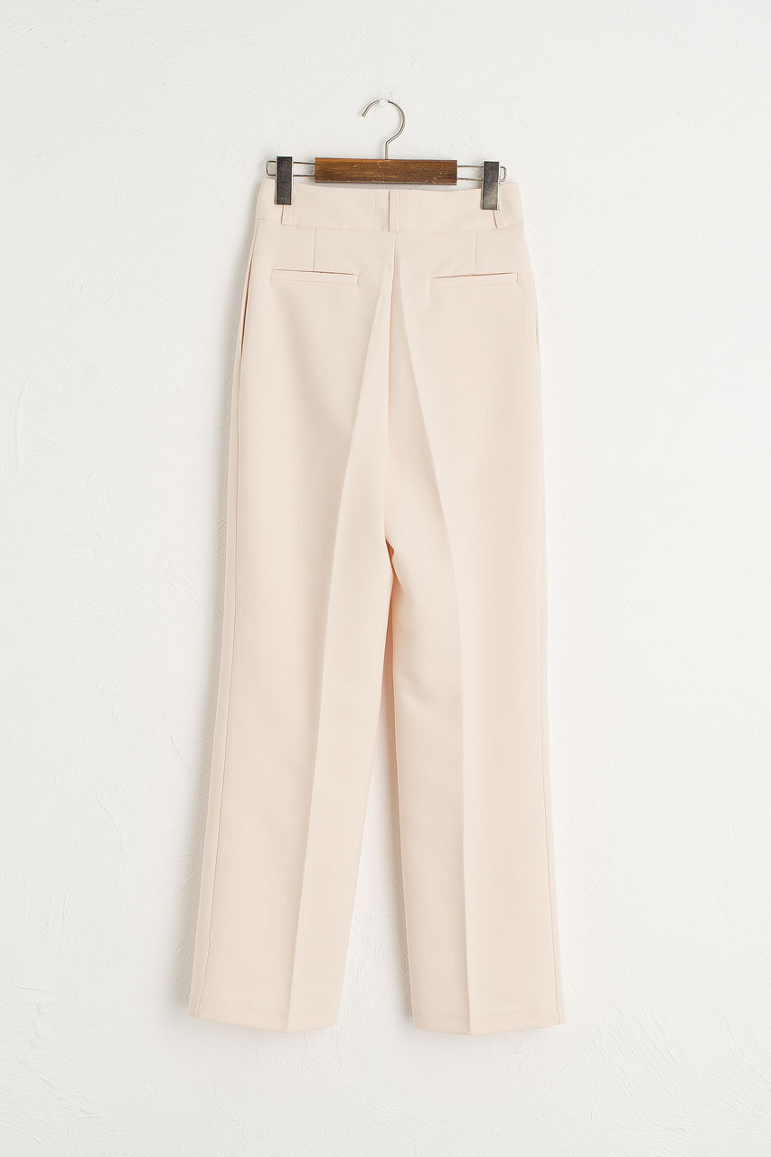 Holywell Simple Slacks, Ivory