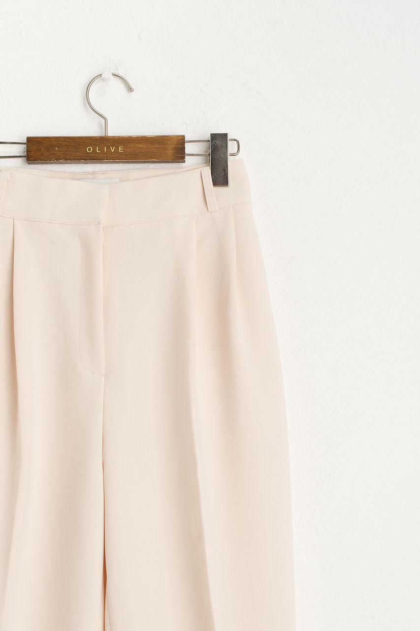 Holywell Simple Slacks, Ivory