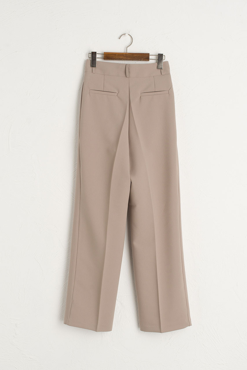 Holywell Simple Slacks, Mocha