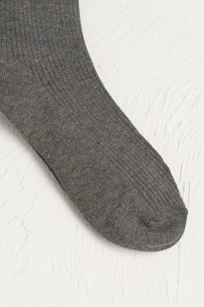 Glitter Flecked Socks, Grey