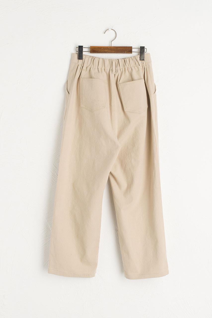 Perro Pintuck Trousers, Stone