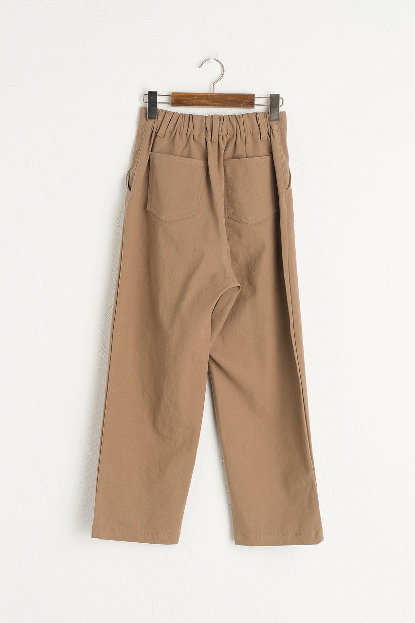 Perro Pintuck Trousers, Beige