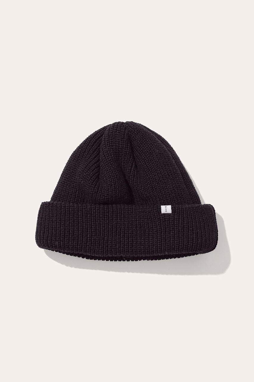 Menswear | Fisherman Beanie, Black