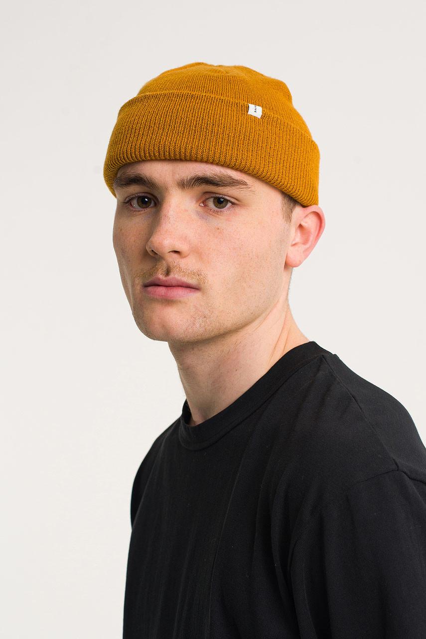 Menswear | Simple Beanie, Ochre
